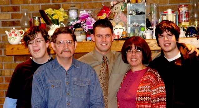 Edwards Family Picture, January 2005